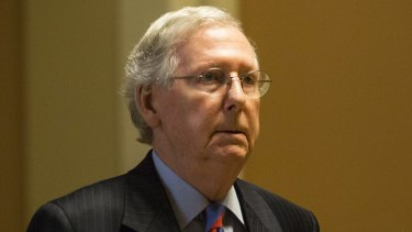 """This is clearly a disappointing moment': Senate Majority Leader Mitch McConnel."