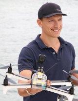 Drone pilot, Alastair Smith.