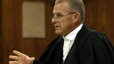 """Prosecutor Gerrie Nel has been accused of pursuing a """"personal vendetta"""" against Pistorius."""