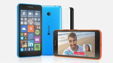 The Microsoft Lumia 640, which will be available in Australia for $299.