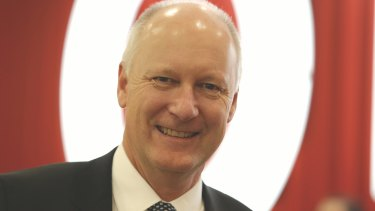 """""""We're not seeing any significant shift in consumer sentiment in our business"""": Wesfarmers managing director Richard Goyder."""