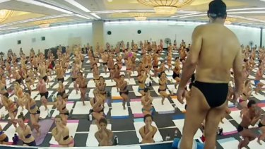 Bikram Choudhury's hot yoga is pratised around the world.