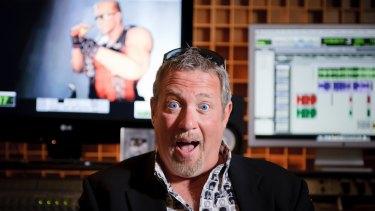 Vocal chameleon: Jon St John provides the voice for Duke Nukem.