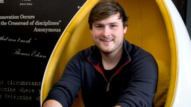 Henry Weaver is an experience manager at the Fishburners start-up co-working space.