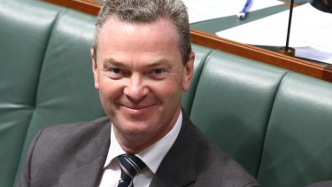 """Education Minister Christopher Pyne called the app """"great"""" and """"inspiring"""" when he launched it last month."""