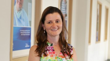 Rebecca Thompson recently completed her role as Peninsula Health's Rainbow Tick accreditation project manager.