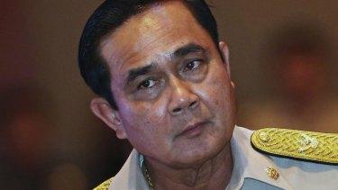 Thai Prime Minister Prayuth Chan-ocha.