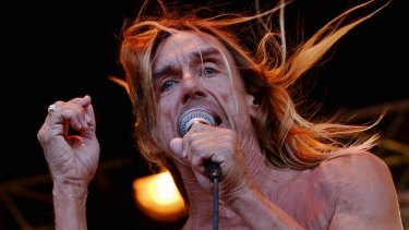 Collaborating with Kylie: Iggy Pop.
