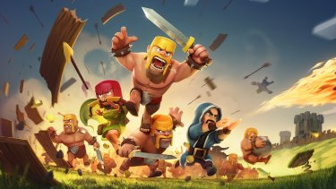 <i>Clash of Clans</i> is the world's biggest mobile game and one of only three currently run by Supercell.