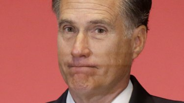 Mitt Romney was the Republicans' presidential candidate in 2012.