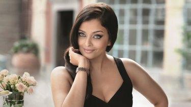 Bollywood star Aishwarya Rai Bachchan.