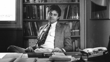 Philip Toyne, former Australia Conservation Foundation executive director, pictured in 1992.