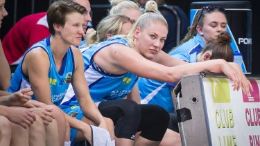 Lauren Jackson has suffered another injury setback and won't play until January.