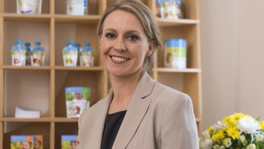 The Bellamy's board voted to remove Ms McBain as chief executive at a meeting on Wednesday, insiders say.