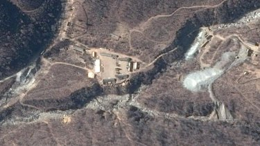 Punggye-ri in Kilju County, North Hamgyong province, is North Korea's only known nuclear test site.