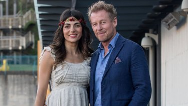 ABC stars Richard Roxburgh and Silvia Colloca share an enviable piece of Sydney real estate together.