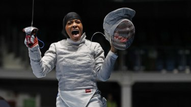 Ibtihaj Muhammad: Celebrating a vital moment.