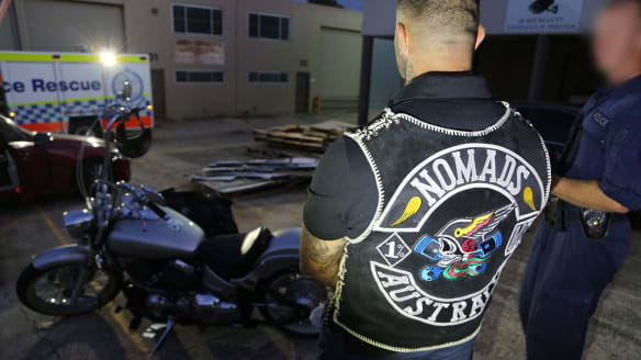 Former Canberra bikie boss beats drugs, weapons, and armour charges