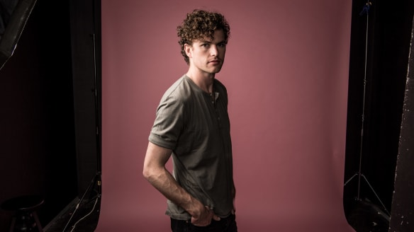 James Keogh, aka Vance Joy, enjoyed the pressure that came with writing his second album, Nation of Two.
