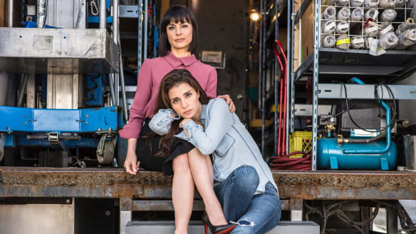 Toxic, co-dependent, loving, brilliant: The relationship between Quinn (Constance Zimmer) and Rachel (Shiri Appleby) is at the heart of <i>UnREAL</I>.