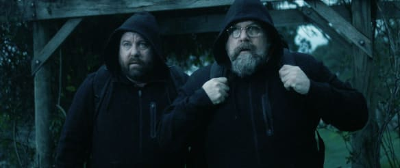 Brothers' Nest review: Jacobson brothers have blood on their hands in dark comedy