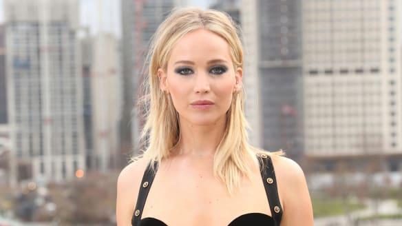 Jennifer Lawrence in London on Wednesday, February 21, 2018.