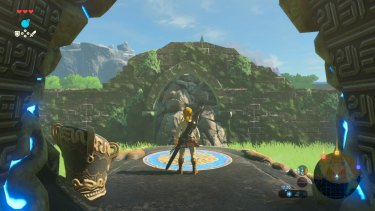 <i>Breath of the Wild</i> is filled with ruins and landscapes to explore.