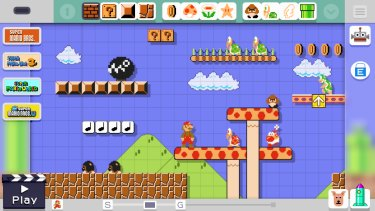 Super Mario Maker hands the game design over to the gaming community with powerful level editing tools and online sharing.