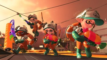 The new Salmon Run mode lets players team up against hordes or AI-controlled bad guys.