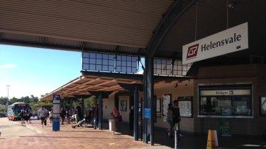 Helensvale Station.