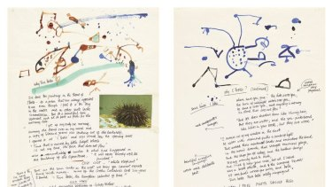 From <i>My Salute to Five Bells</i> by John Olsen.