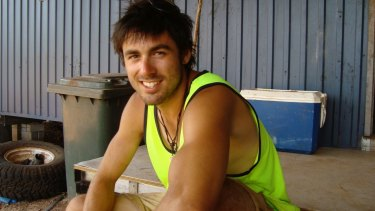 Tom while working in Arnhem Land.