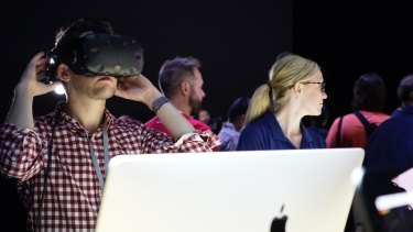 Apple is making a push into VR with updates to macOS and new graphics chips in its iMacs.