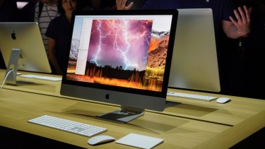 iMacs have been updated with more powerful internals and brighter, more colourful screens.