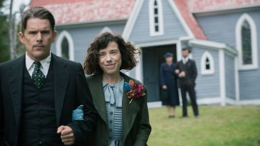 Sanitised biopic of the naive artist: 'Maudie' starring Ethan Hawke and Sally Hawkins.