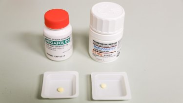 A year's worth of methotrexate is often dispensed at once.