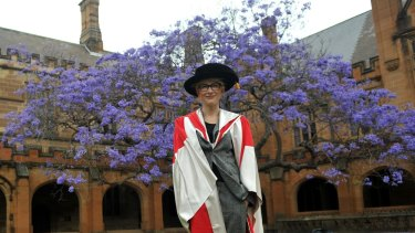 Cate Blanchett received an honorary doctorate from the University of Sydney in 2012.