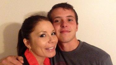 Private Daniel Garforth with his mother Nikki Jamieson.
