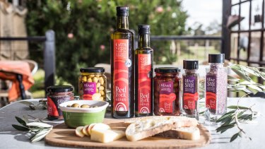 At Red Rock Olives you can sample the locally produced oil, cake and tasting plates.