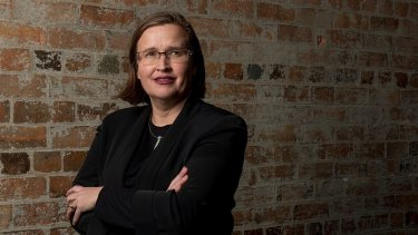 Australia's new Sex Discrimination Commissioner Kate Jenkins.