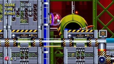 Sonic Mania offers new twists on fan-favourite stages, while keeping the action very authentic to the original games.