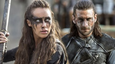 Commander Lexa leads a whole damn coalition of clans.