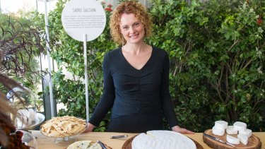Sheree Sullivan, owner of Udder Delights in the Adelaide Hills.