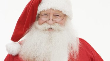 The Santa Claus myth is an easy one for children to absorb.