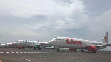 Ngurah Rai International Airport in Denpasar on Monday.