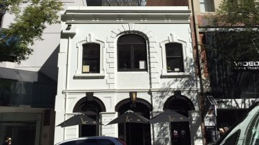Showroom is on the second floor of a circa 1880s building on Edward Street.