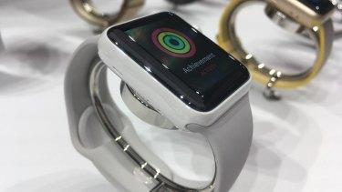 The ceramic Apple Watch Edition.