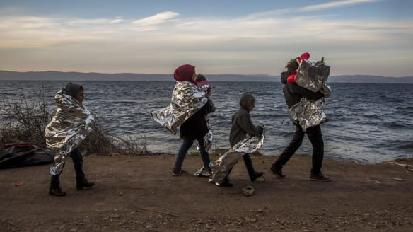 Europeans open their hearts to vast numbers of the desperate