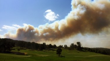 An Emergency warning has been issued for the Lancefield area, north-west of Melbourne.