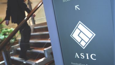 ASIC took action.
